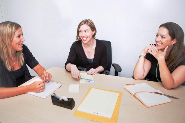 Wawancara kerja cara tetap tenang